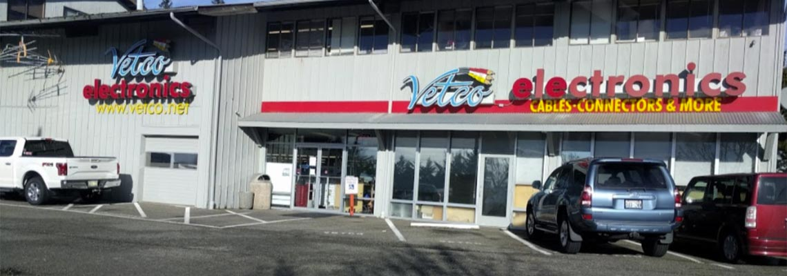 Vetco Electronics Store near Seattle  Industrial and Maker Electronics for Less