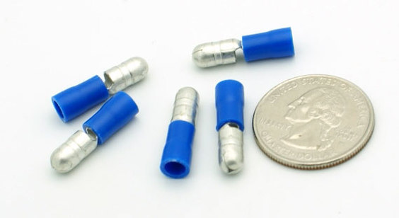 16-14 Gauge Bullet Plug 25 pieces