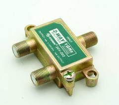 2 Way 1Ghz Cable Splitter