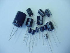 220uF 100 Volt Electrolytic Capacitor