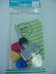 SPST Toggle Switch Paddle Handle w/Color Boots 50A