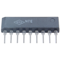 NTE1610 - IC-TV VIF, Video Amp