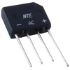 400 Volt 2A Bridge Rectifier Single Phase (KBP04M) - NTE168