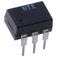 Optoisolator TRIAC Driver Output 6-Pin DIP - NTE3047