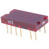 NTE3050 - 7-Segment LED Display, Red - 0.27""