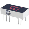 NTE3052 - 7-Segment LED Display, Red - 0.30""