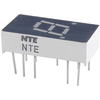 NTE3053 - 7-Segment LED Display, Orange - 0.30""