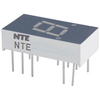 NTE3054 - 7-Segment LED Display, Green - 0.30""