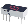 NTE3061 - 7-Segment LED Display, Red - 0.30""