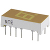 NTE3064 - 7-Segment LED Display, Yellow - 0.30""