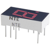 NTE3068 - 7-Segment LED Display, Red - 0.40""