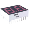 NTE3074 - 2-Digit 7-Segment LED Display, Red - 0.56""