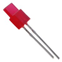 NTE3160 - Red LED - Rectangular - 5 Pack