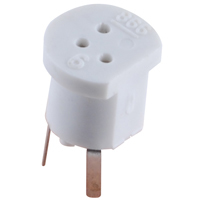 TO18 3-Pin Transistor Socket - NTE417 - 2 Pack