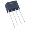 200 Volt 4A Bridge Rectifier Single Phase 4-Pin Inline - NTE5318