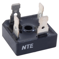 600 Volt 40A Bridge Rectifier 4-Tab Square - NTE5342