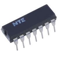 NTE7406 - IC-TTL HEX Inverter Buffer/Driver w/30v Open Collector