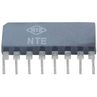 Dual Low Noise OP Amp 8-Pin SIP - NTE778S