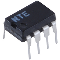 Low Power Programmable OP Amp 8-Pin DIP - NTE888M