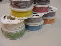 22 AWG Solid Single Conductor Hookup Wire -  25'