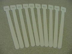 "9"" Velcro Cable Tie QTY: 10 White"