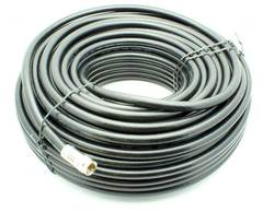 100' RG-6 Quad Shield Coax Cable