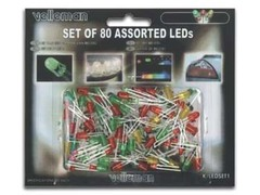 80 Assorted LED's