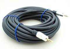50' 3.5mm Stereo Cable - Professional Quality