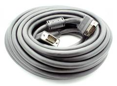 50' VGA Male - Male Cable CL2 In-Wall