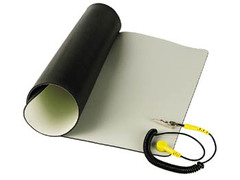 "Anti-Static Mat with Ground Cable 30"" x 42"""
