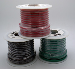 12 AWG Stranded Single Conductor Hookup Wire - 25'