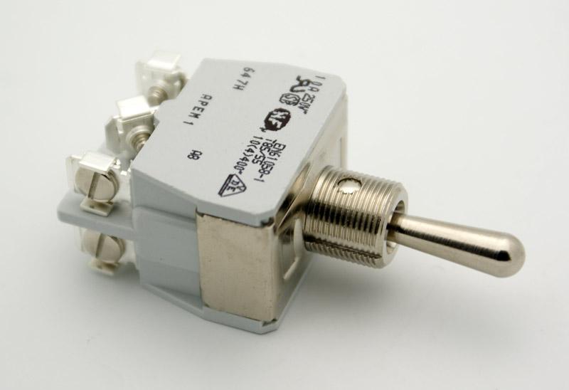 dpdt bat handle toggle switch on off on 15a vetco electronics rh vetco net