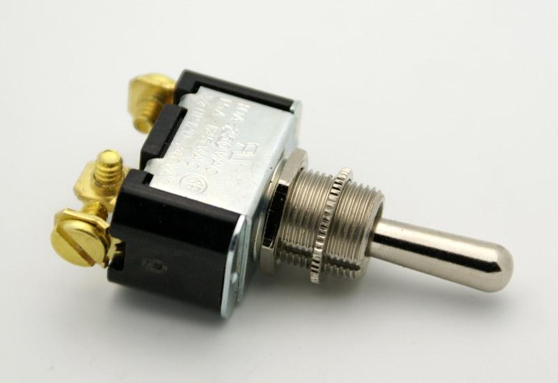 spdt bat handle toggle switch on off on 15a vetco electronics rh vetco net