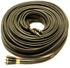 100' 3 RCA Composite Video + Stereo Audio Cable - Black