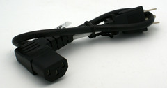 "18"" Right Angle IEC Power Cord"