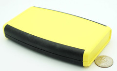 147 x 89 x 24MM ABS Soft Sided Hand Held Case Yellow