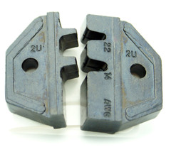 Crimp Die for Non-Insulated 14-22AWG Open Barrel Terminals