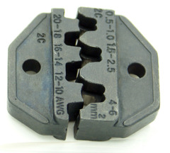 Crimp Die for Interlocking and Non-insulated 20-18/16-14/12-10aw