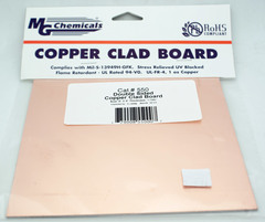 "6"" x 6"" Double Sided Copper Clad PC Board"
