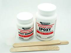 MG Optically Clear Epoxy Encapsulating and Potting Compound - 1.125 L