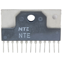 NTE7204 - IC 2-Channel Audio Power Amp