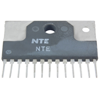 NTE7210 - IC 2-Channel Audio Power Amp - 5.5W