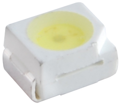 NTE30028 - White LED - PLCC SMD (3.5mmx2.8mm) - Super Bright