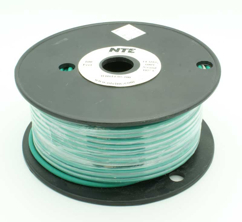 14 AWG Stranded Single Conductor Hookup Wire - 100\' - Vetco Electronics