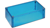 150 x 46 x 83MM Polycarbonate Box Translucent Blue