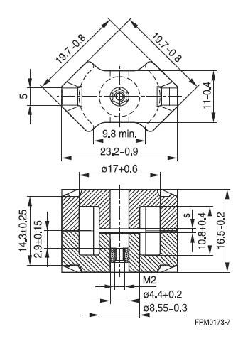 FERRITE CORE  EPCOS B65811J0000R041 - Vetco Electronics