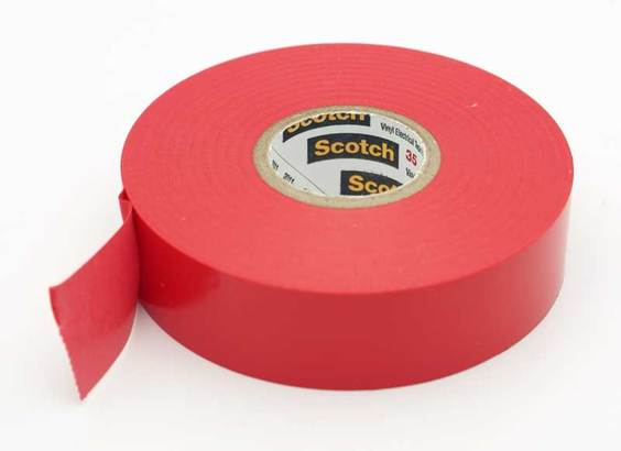 Business & Industrial 3M Scotch 35 Vinyl Electrical Color Coding Tape 3/4 x 66ft Red 10810 Adhesives, Sealants & Tapes