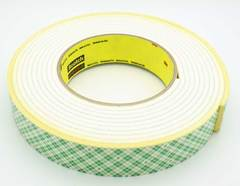 "1/8"" x 1"" Double Sided Mounting Tape - 18'"