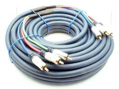 100' Component Video Cable - Heavy Duty