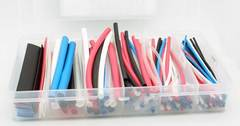 "170 Piece Heatshrink Tubing Assortment - 4"" (5 Colors)"